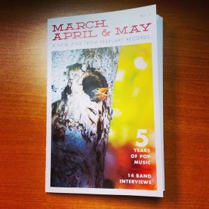 March, April, May
